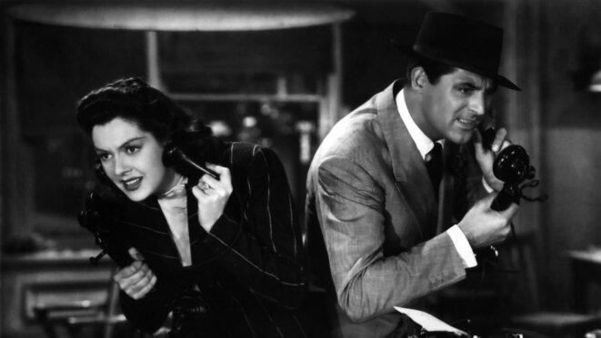 """""""La Dame du vendredi"""" 'His Girl Friday) réalisé par Howard Hawks © éditions Montparnasse"""