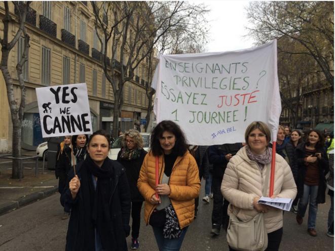 À Marseille, le 5 décembre 2019.