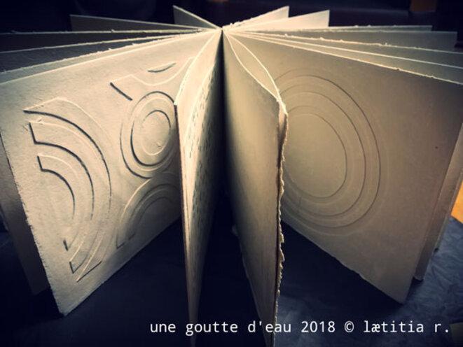 Laëtitia Rambinintsoa Livre d'artiste © Claude Postel
