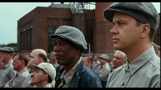"""""""Les Évadés"""" (The Shawshank Redemption) réalisé par Frank Darabont © Warner Bros."""