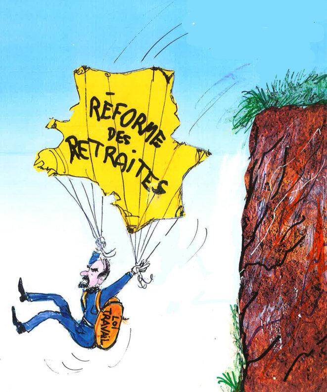 Réforme des retraites © Calvi