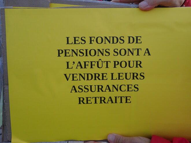 Les fonds de pension sont à l'affût pour vendre leurs assurances retraite © ©AB