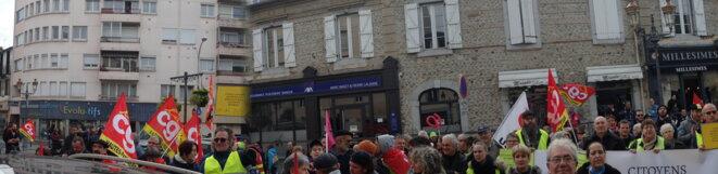 L'opposition puissante à la représentante LREM Stéphanie Abbadie © ©AB