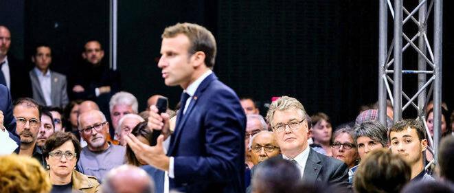 Macron et la retraite des retraites © Pierre Reynaud