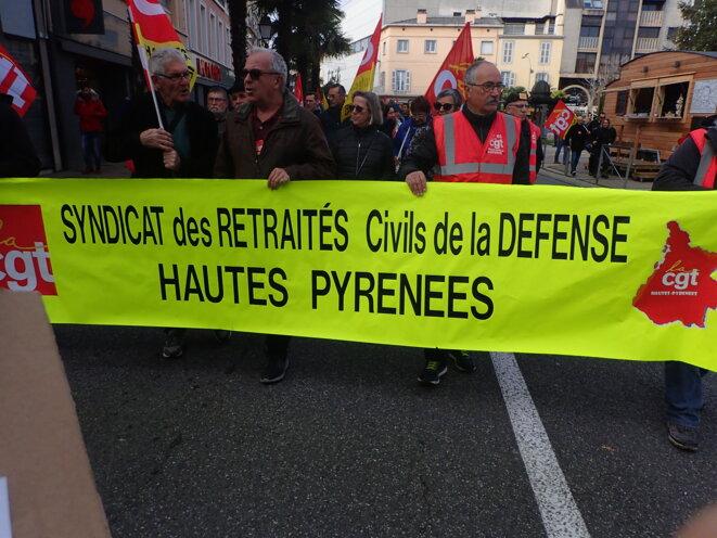 Syndicat des retraités civils de la Défense des Hautes-Pyrénées © ©AB