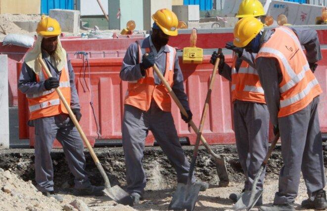Qatar: retour en cercueils pour de nombreux ouvriers népalais © RTBF.be