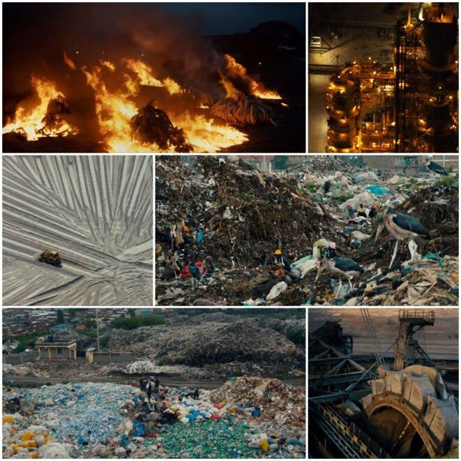 """Images extraites du film """"Anthropocene : the human epoch"""" (Canada 2018) réalisé par Jennifer Baichwal et Nicholas De Pencier et Edward Burtynsky"""