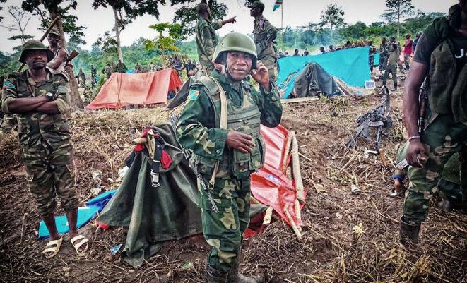 L'armée congolaise reprend une position ADF en décembre 2019 © FARDC