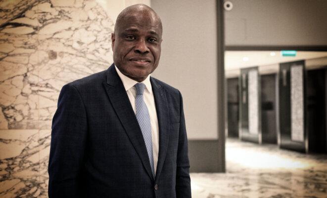 Martin Fayulu à Paris en décembre 2019 © Christophe Rigaud - Afrikarabia