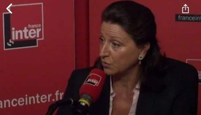Agnès Buzyn sur France Inter le 17 décembre