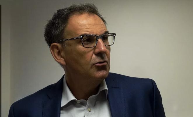 Le président de la métropole de Lyon David Kimelfeld. © J.Le Mest/Mediacités