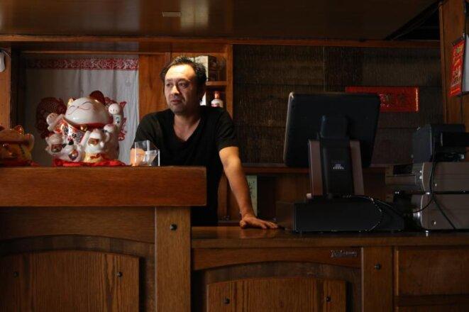 Monsieur Hui dans son restaurant. © JP
