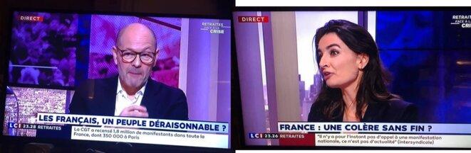 Pascal Perri et Agnès Verdier-Molinié sur LCI