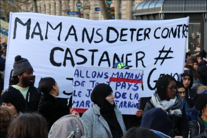 """Portfolioi de Baptiste Dupin, """"Dimanche 8 Décembre: Marche des mamans pour la justice et la dignité à Paris"""""""