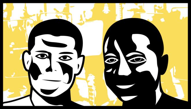 Portrait de Zyed Benna et Bouna Traoré © Mélio Lannuzel CC