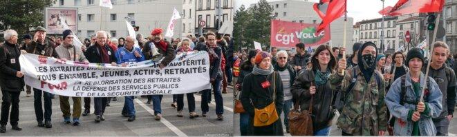 """Dans les portfolios de Georges à Clermont, très jeunes et plus âgés cohabitent: """"tous ensemble, jeunes, actifs, retraités"""" © Georges à Clermot"""