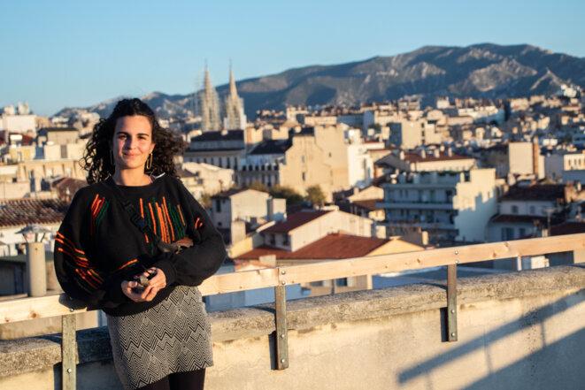 Sophia Daoud, l'une des instigatrices du projet © Justin Carrette