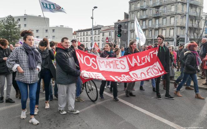 """""""Nos mamies valent plus que leurs profits!"""" © Georges à Clermont"""