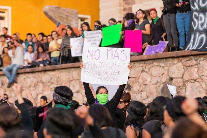 « Fini l'impunité pour l'assassin, le violeur et le harceleur» © © Crédit photo: Stacey De Martini