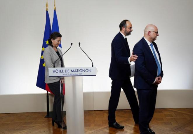 À Matignon, le 19 décembre. © Reuters