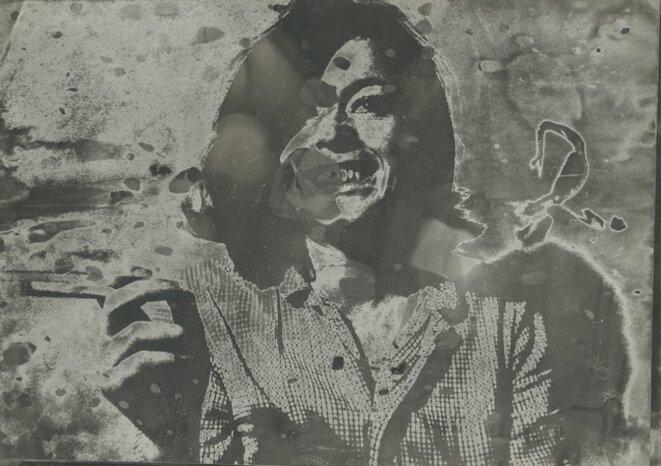 Sigmar Polke, Sans titre (Hannelore Kunert), 1970-1980, Collection de Georg Polke © The Estate of Sigmar Polke, Cologne/ADAGP, 2019