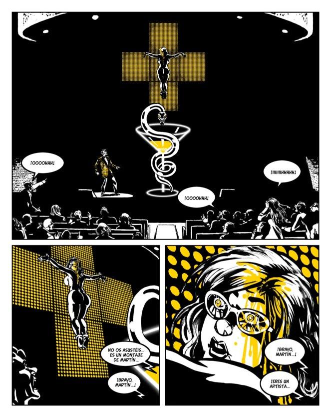 Moi, Fou - Denoël Graphic © Dessins de Keko