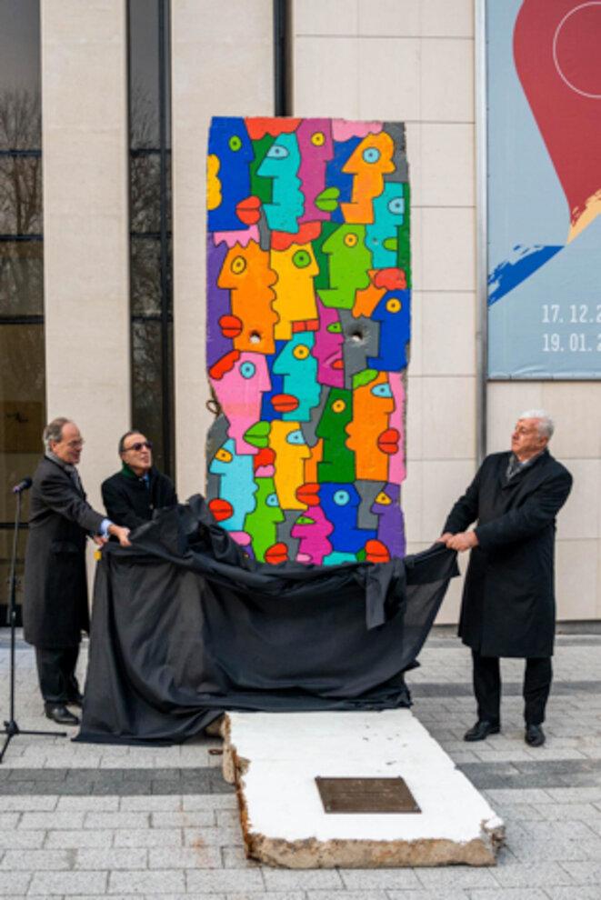 Inauguration à Plovdiv (Bulgarie) Capitale Européenne de la Culture 2019 du Monument pour la Paix et Tolérance en Europe (oeuvre de Thierry NOIR)