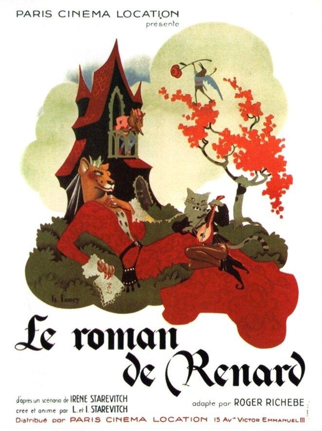Le Roman de Renart (1937) Long metrage, animation de marionnettes © Ladislas et Irène Starevitch