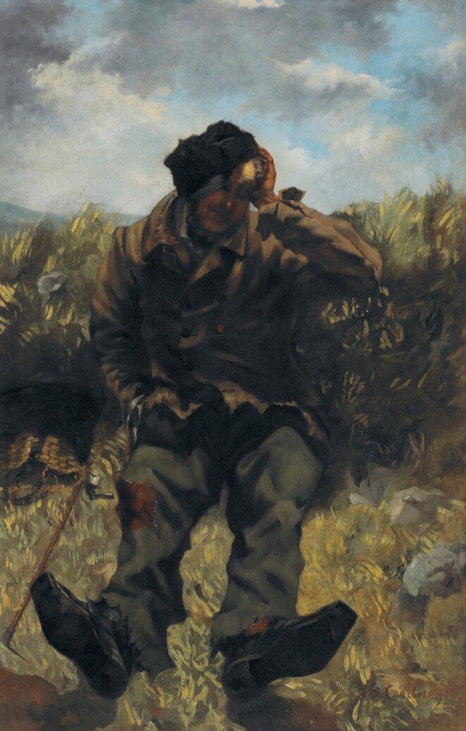 Gustave Courbet Le Chemineau Vers 1845, huile sur toile Dole, Musée des Beaux-Arts © Musée des Beaux-Arts de Dole, cl. Jean-Loup Mathieu