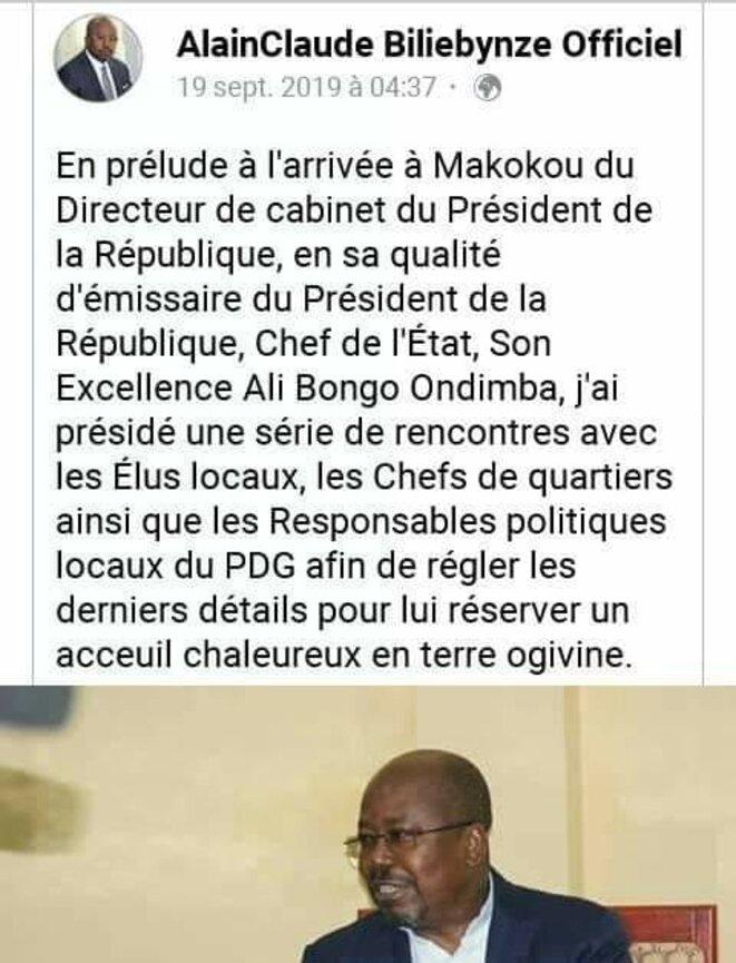 GABON | Alain Claude Bilié Bi Nzé, Ministre des Affaires Etrangères