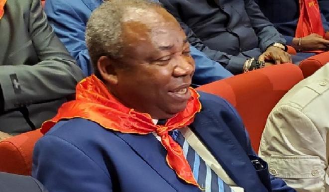 Pierre Moussa au 5ème Congrès du Parti Congolais du Travail