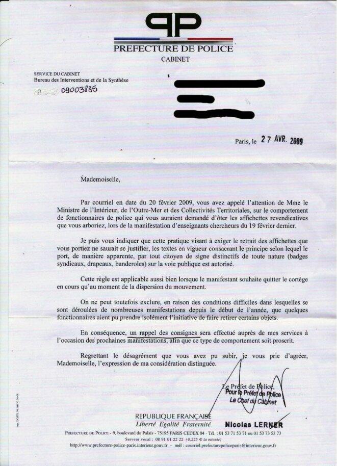© Préfecture de Police de Paris.