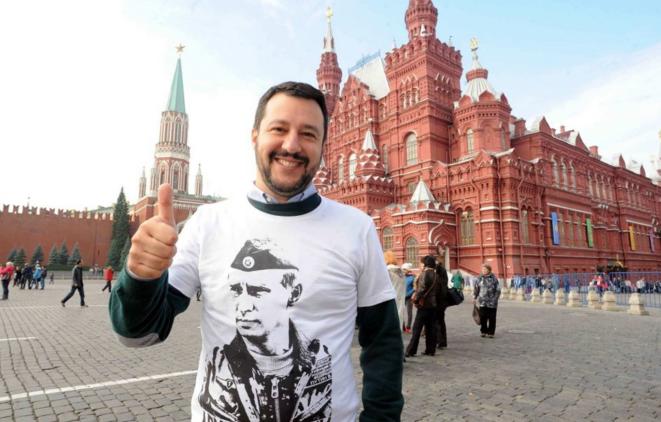 Mattéo Salvini à Moscou © The Insider