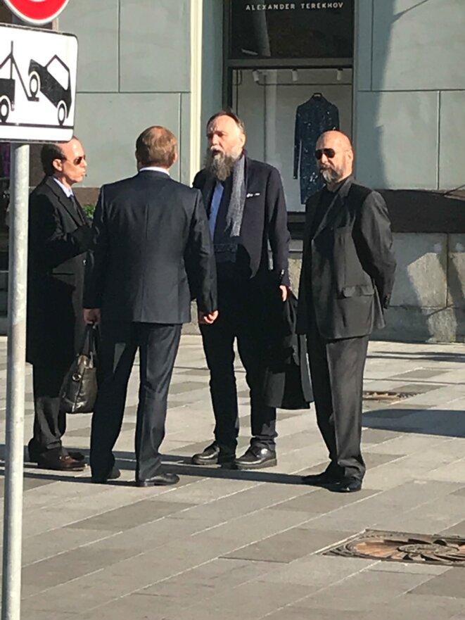Mattéo Salvini et Alexandre Dugin