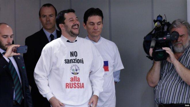 Salvini demande de lever les sanctions © The Insider