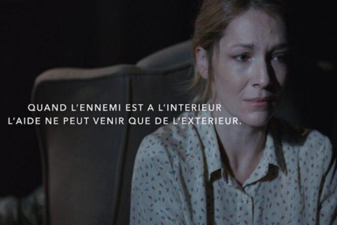 Campagne de la Fédération nationale Solidarité Femmes.