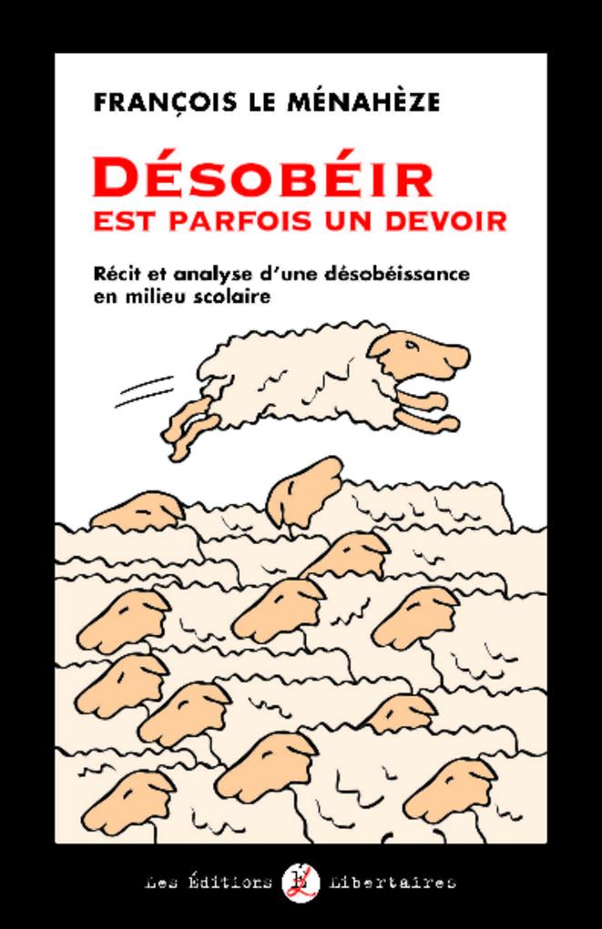 Couverture libre désobéir © François Le Ménahèze
