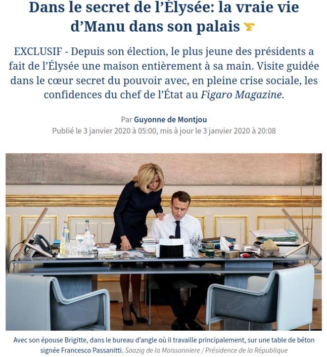 https://www.lefigaro.fr/politique/dans-le-secret-de-l-elysee-la-vraie-vie-d-emmanuel-macron-dans-son-palais-20200103