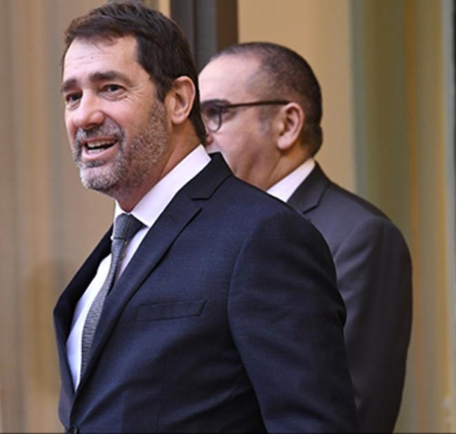 Un ministre de l'Intérieur satisfait. © Mediapart