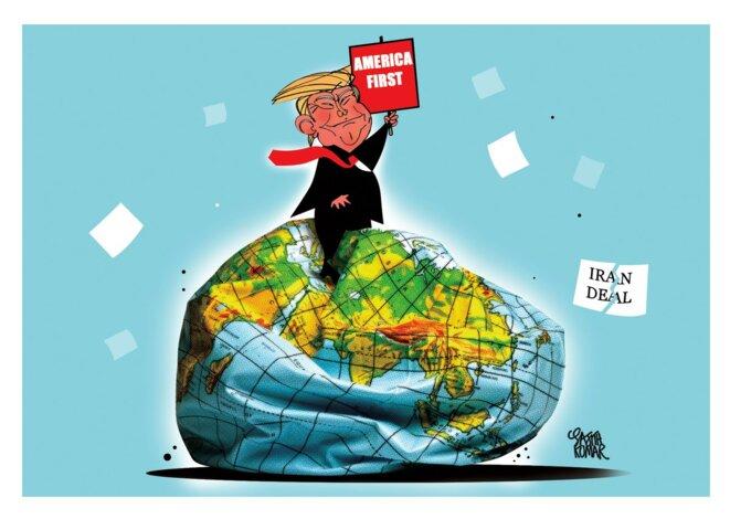 Trump and Reason, NO DEAL! © Sajith Kumar