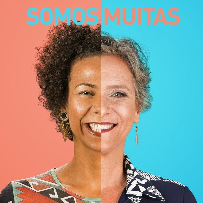 Profils d'Aurea Carolina et Cida Falabella - images de campagne © Gabinetona