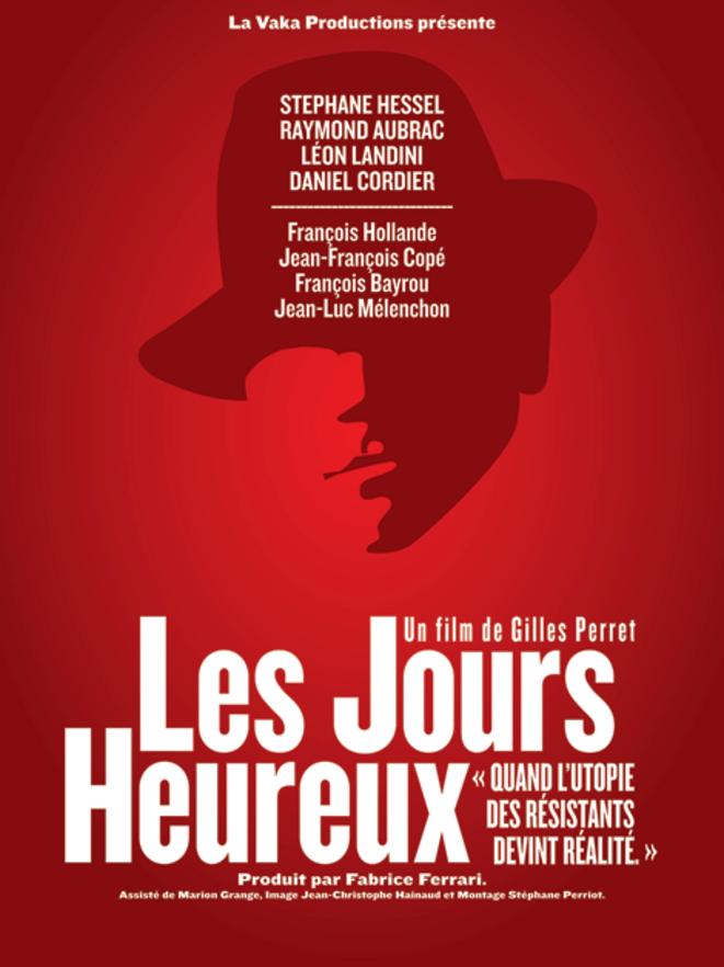 Affiche du film Les Jours heureux, Gilles Perret © lesjoursheureux.net