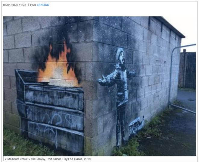 Meilleurs Voeux © Banksy