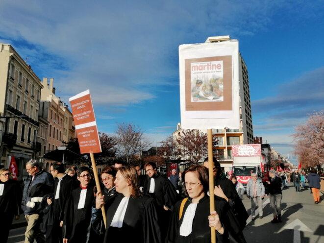 Les avocats très mobilisés aussi