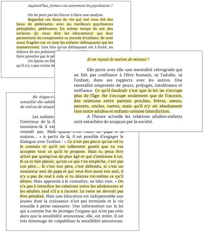 Extraits du livre La cause des adolescents © Françoise Dolto