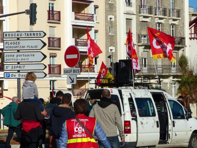 Manifestation monstre à Bayonne le 09 janvier 2020 !