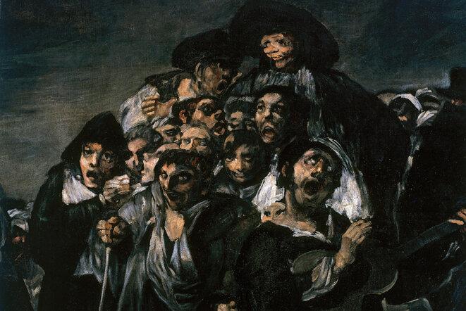 Francisco de Goya, La romerìa de San Isidro © DR