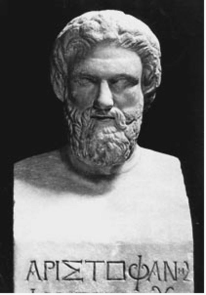 Buste d'Aristophane (Musée des Offices, Florence)