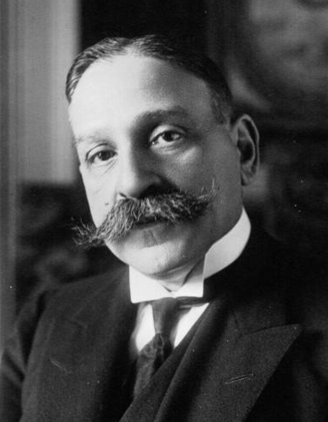 Louis-Lucien Klotz en 1917 © Agence de presse Meurice, Wikimedia Commons/Gallica BNF (domaine public)