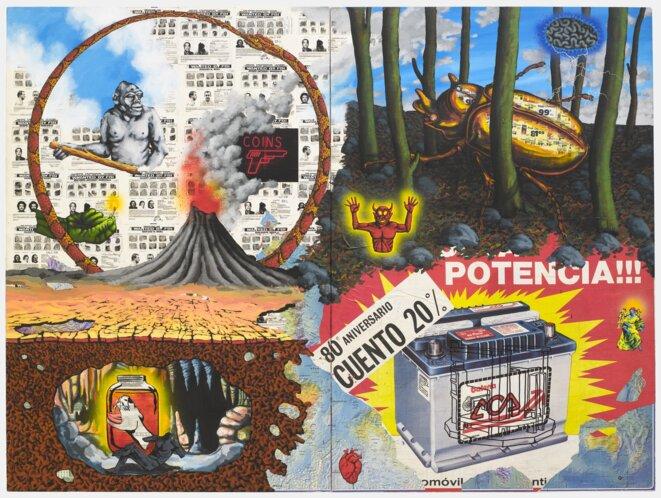 Fire, David Wojnarowicz, 1986